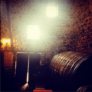 Bulgarian wine making - an old wine cellar in Melnik