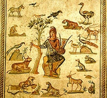 The Thracian poet and musician Orpheus