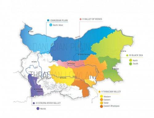 Bulgarian Wine Regions (Short Videos)