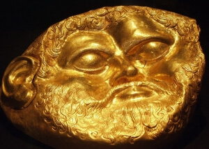 The golden mask of Teres I - the first king of the Odrysian Kingdom