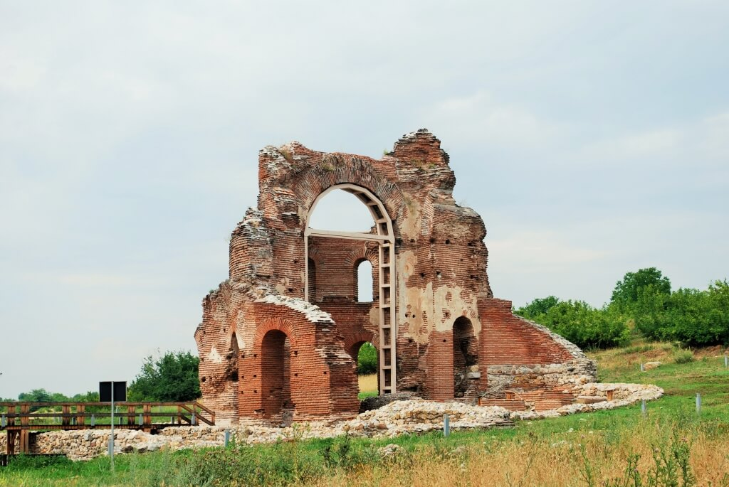 The Red Church - one of the earliest Christian churches discovered