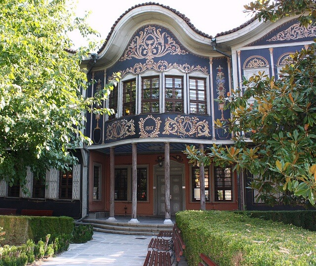 The Etnographic museum in Plovdiv - an example of National Revival architecture