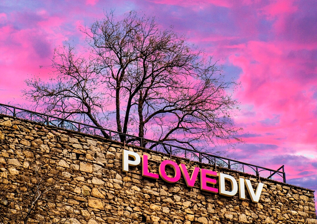 This is Plov(e)div - the city you will fall in love with