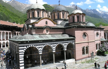 Rila Monastery - the largest Bulgarian monastery