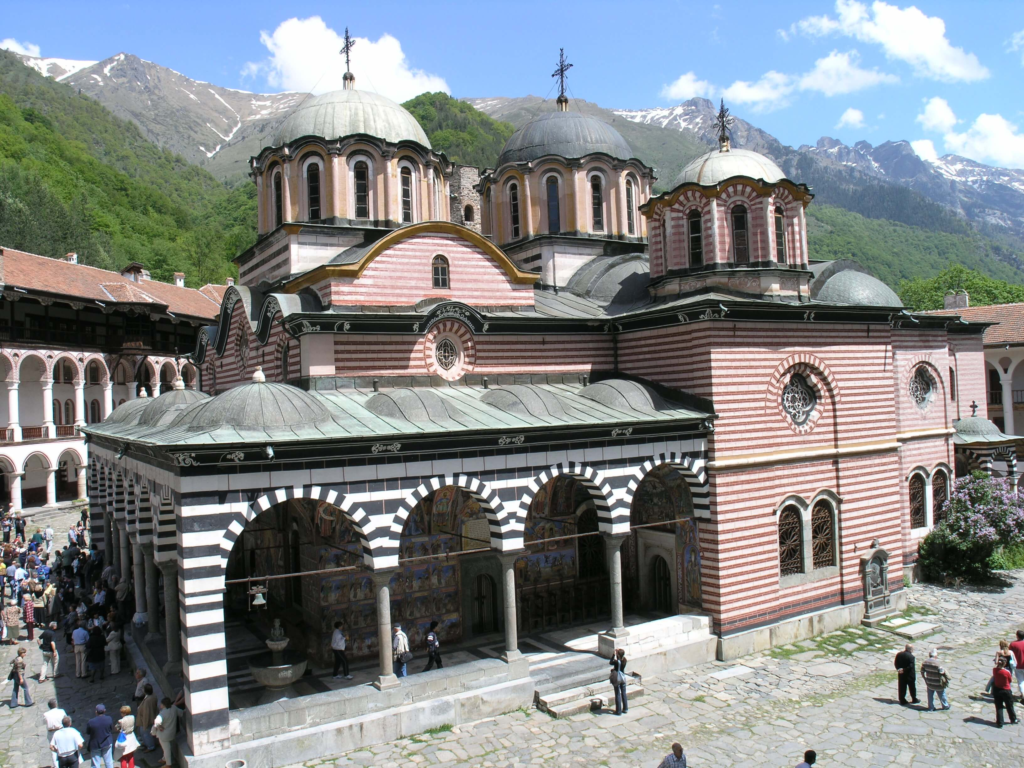 Rila Monastery - the largest Bulgarian monastery