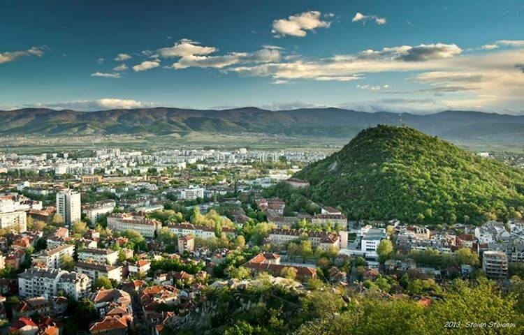Dzhendem tepe (The Hill of Hell) is the highest hill in Plovdiv