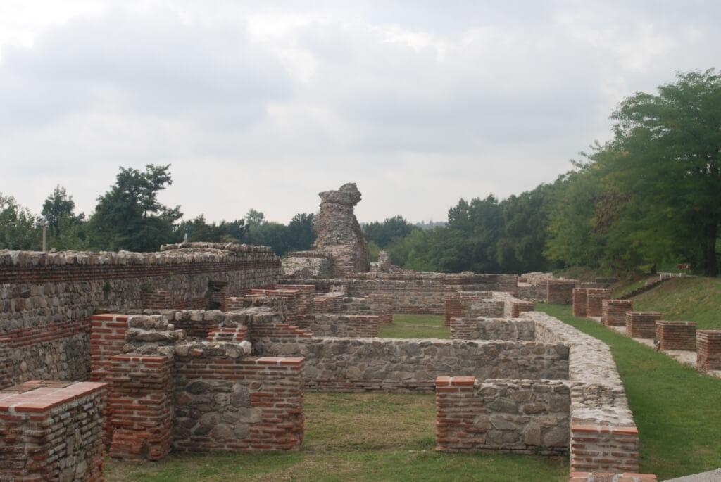 Roman ruins in Hisarya