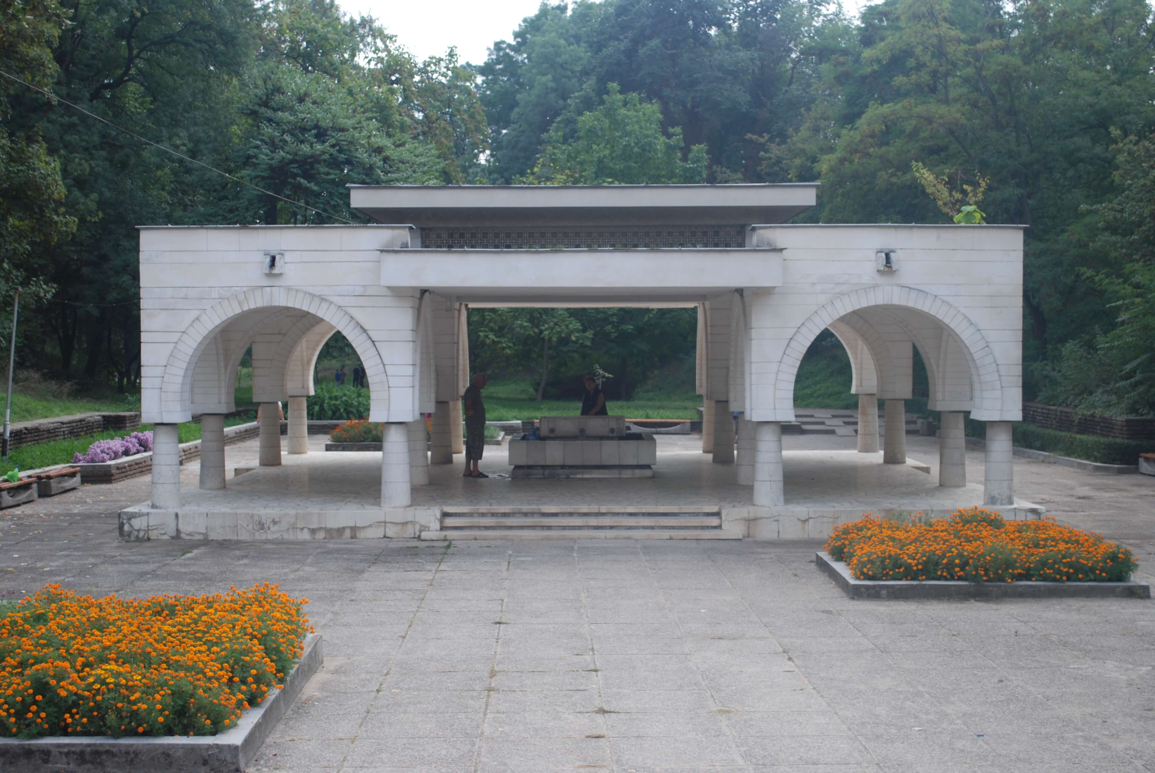 One of the many public mineral water fountains in Hisarya