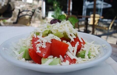 Shopska salad from the Sofia region