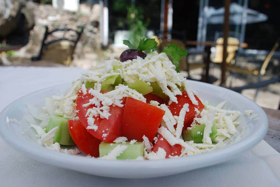 Shopska salad - the most popular salad in Bulgaria
