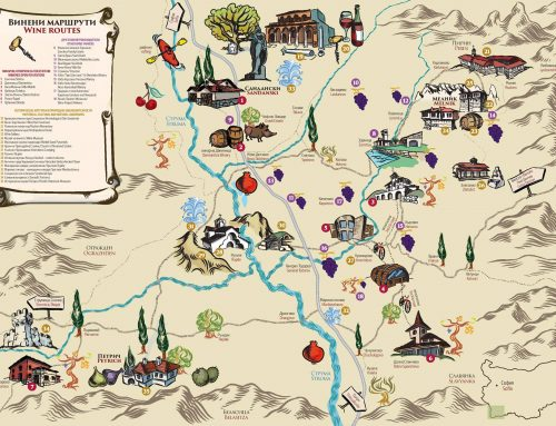 2nd Edition of Melnik Wine Routes Map is HERE!