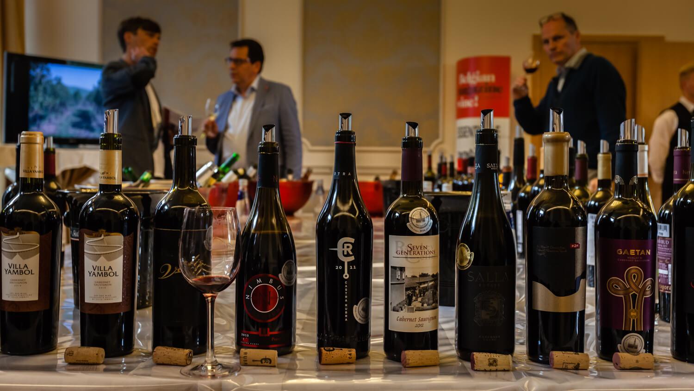 Concours Mondial de Bruxelles tasting of awardwinning wines
