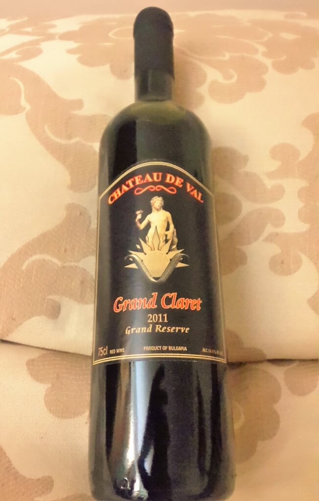Grand Claret Reserve 2011 from Chateau de Val