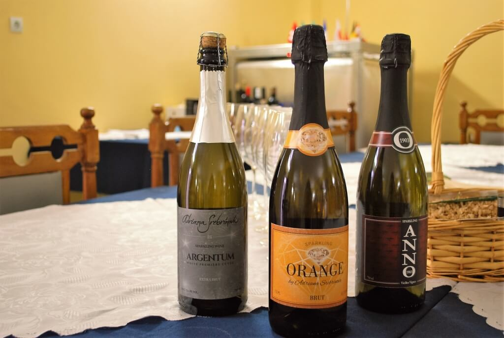 Bulgarian terroir sparkling wine