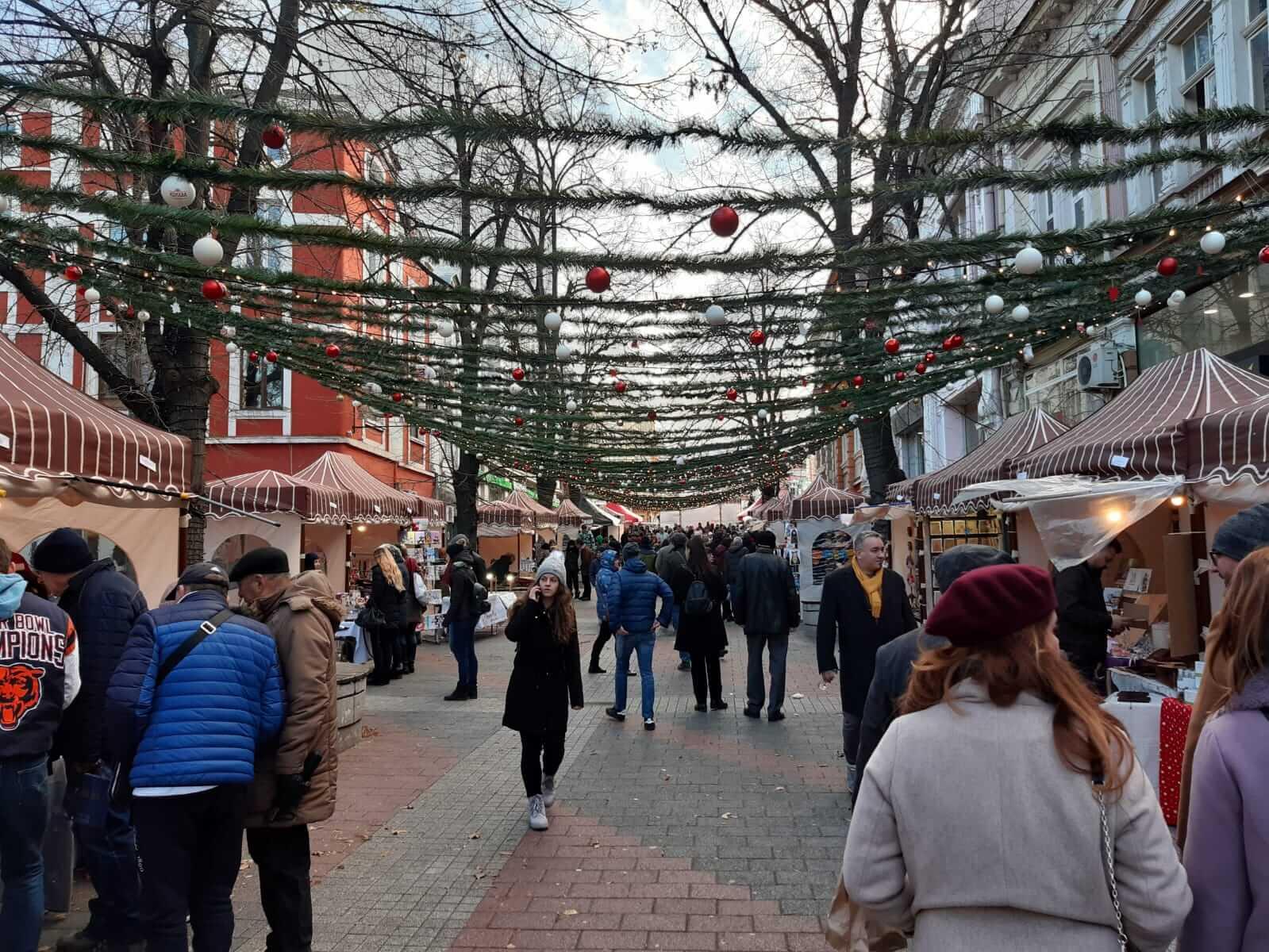 Plovdiv Christmas Market