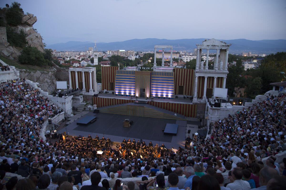 Plovdiv Opera Ancient Theatre