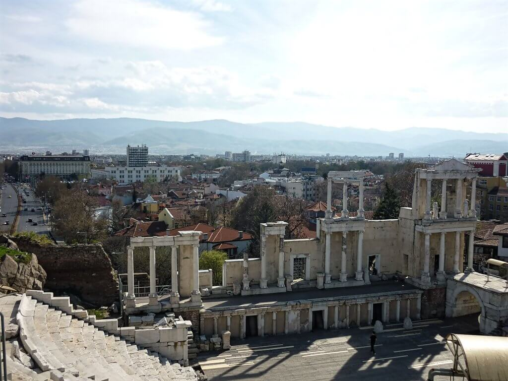 Plovdiv Ancient Theatre