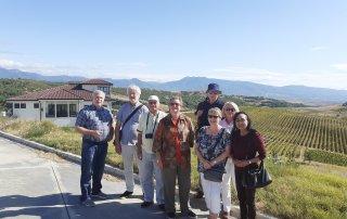 Group at Villa Melnik