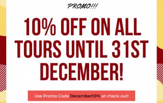 10% on november and december
