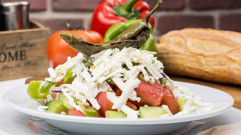 shopska salad food