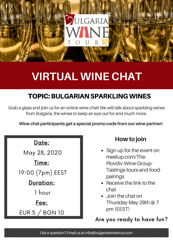 virtual wine chat sparkling wines