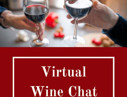 Virtual Wine Chat 8th May 2020